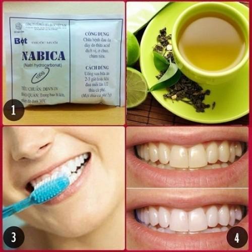 Bất ngờ với cách làm trắng răng bằng muốii-3