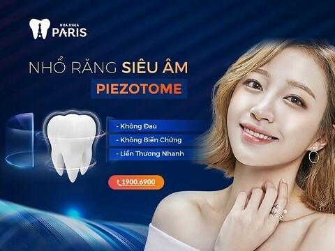 Công nghệ nhổ răng khôn mọc lệch bằng máy siêu âm piezotome