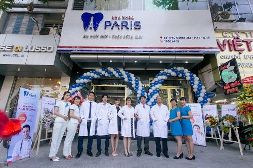 Khai trương cơ sở nha khoa Paris tại số 179C Đường 3/2 – T.p HCM