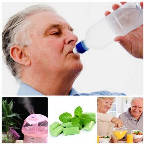 Nguyên nhân và cách chữa trị chứng khô miệng ở người cao tuổi 5