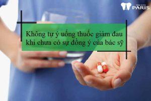 Đau răng khôn uống thuốc gì để hết đau ?