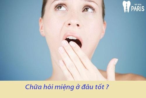 Khảo sát: Chữa hôi miệng ở đâu tốt và đáng tin cậy ?