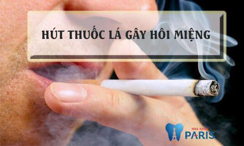 Hút thuốc lá gây hôi miệng: Nguyên nhân và cách khắc phục HIỆU QUẢ 1