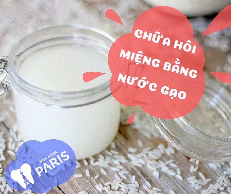 Chữa hôi miệng bằng nước vo gạo Hiệu Quả Thần Tốc trong 5 phút 1
